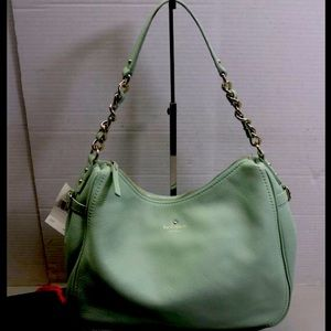 NWT- Kate Spade mint green purse FINAL PRICE!!!!!